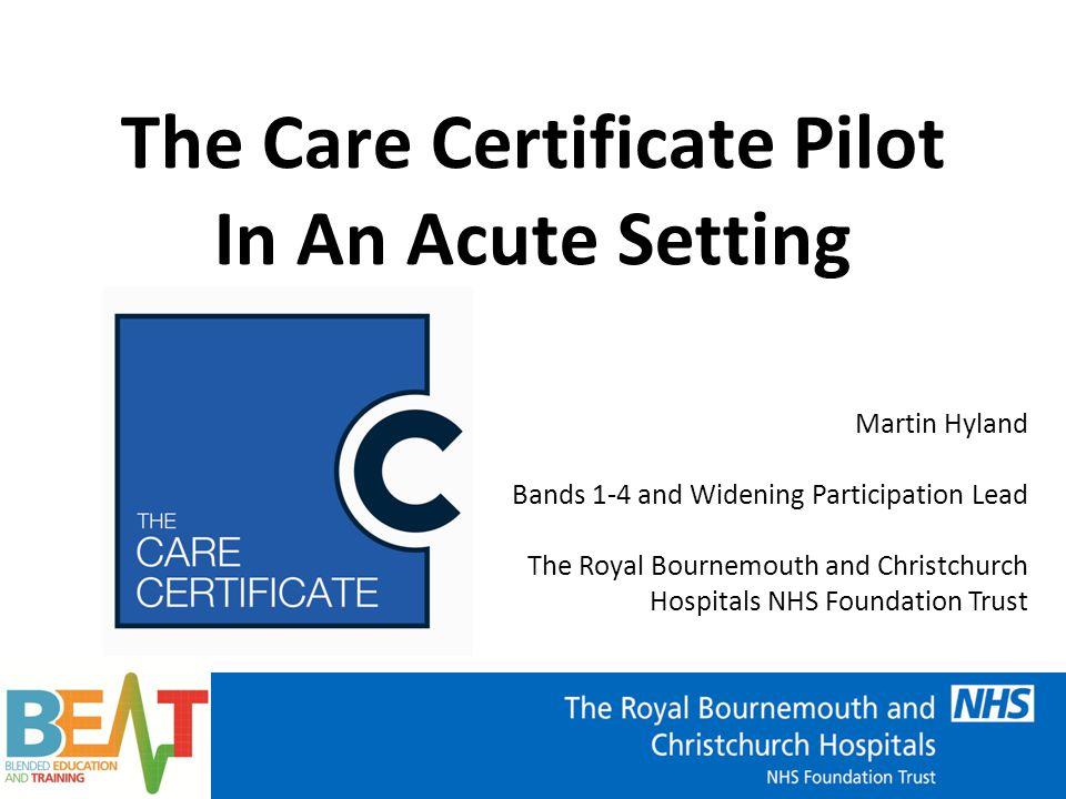 Francis Inquiry  Cavendish Review  Care Certificate The Care Certificate – Why.