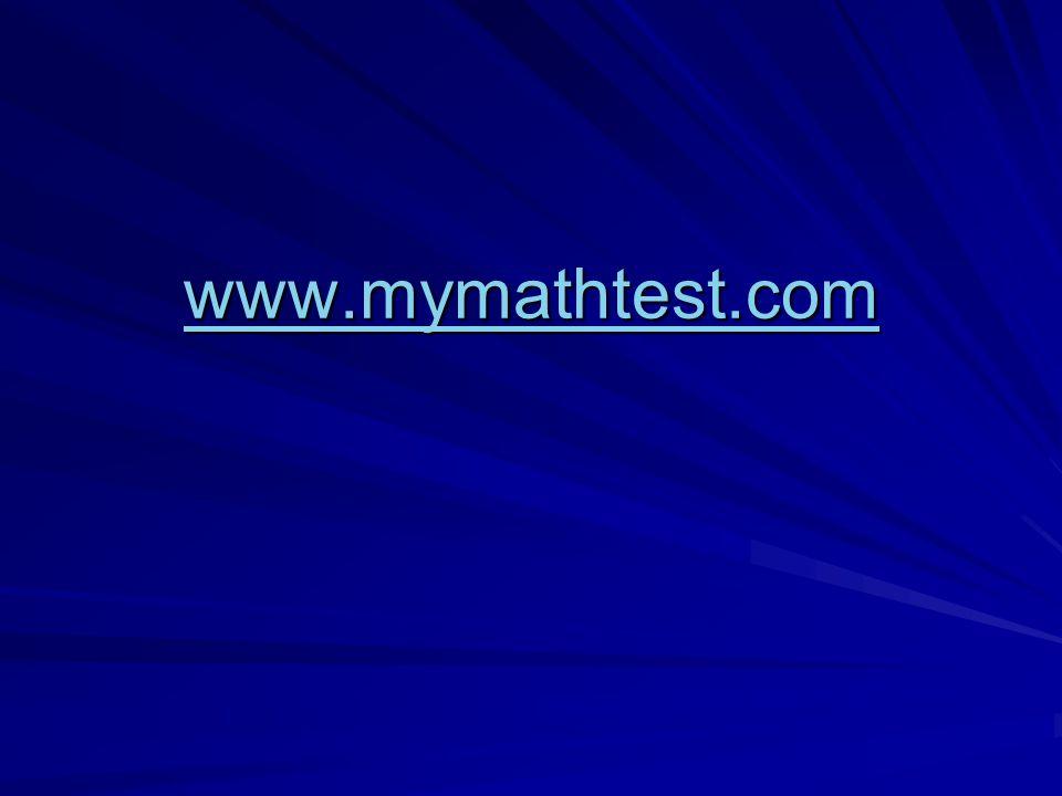 www.mymathtest.com