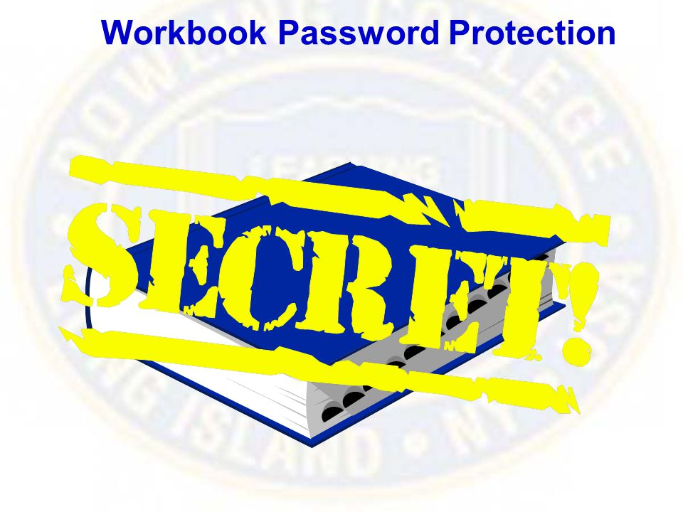 Workbook Password Protection
