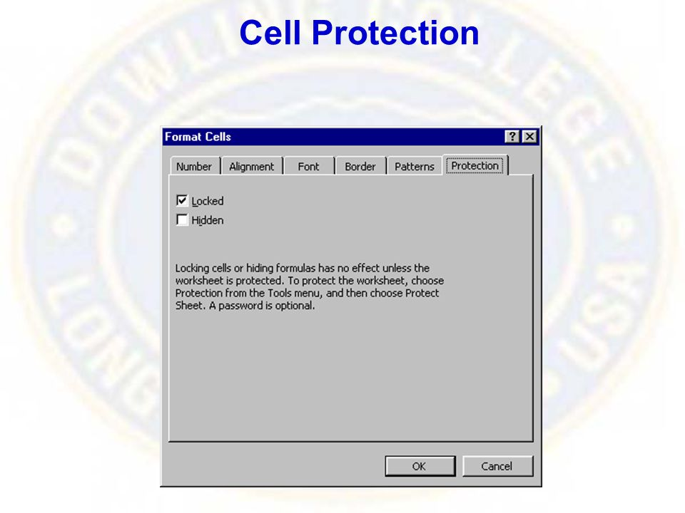 Cell Protection
