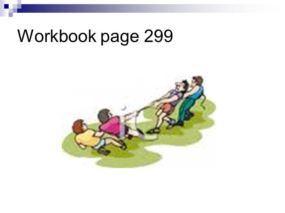 Workbook page 299