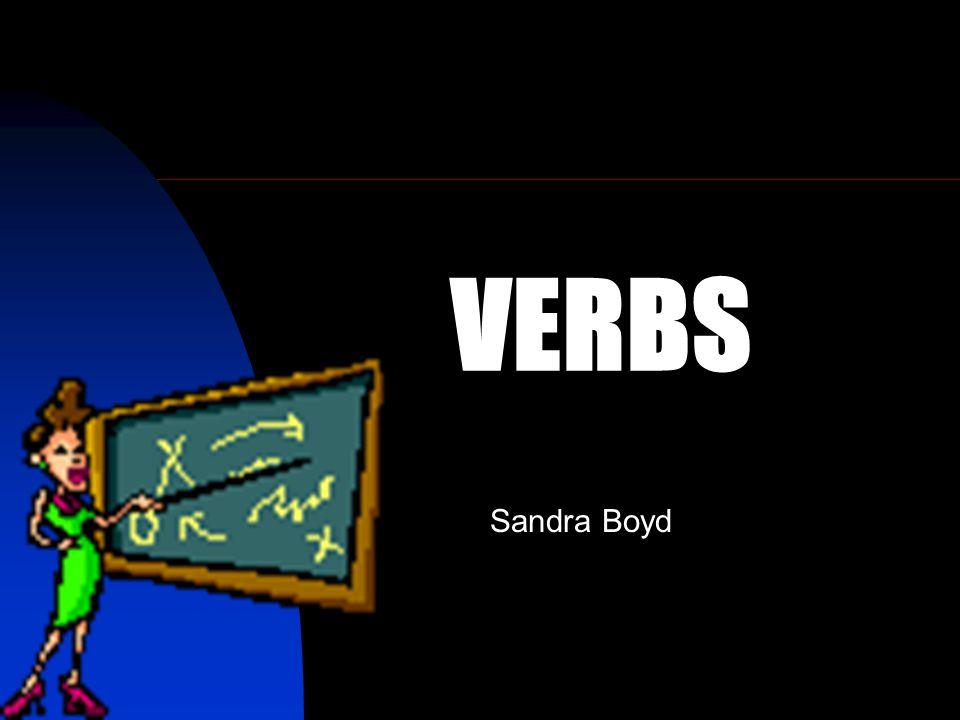 VERBS Sandra Boyd