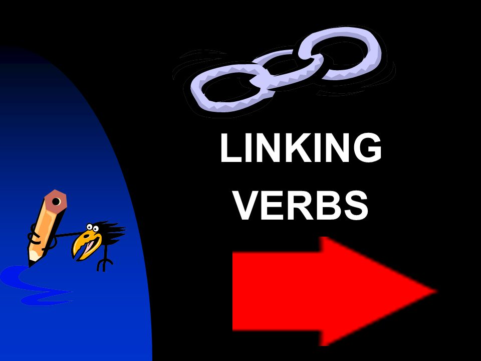 Linking Verbs and Predicate Words A linking verb connects the subject of a sentence with a noun or an adjective in the predicate.