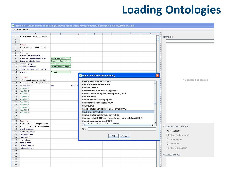 Loading Ontologies