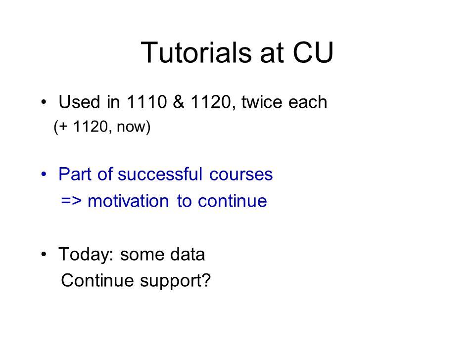 Replication UW (no Tut) UW (with Tut) CU (with Tut) Atwood: tension 255055 Identify Newton III partners 1570