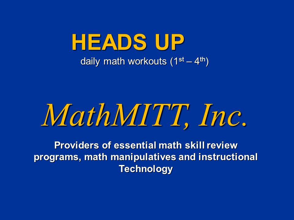 MathMITT, Inc.