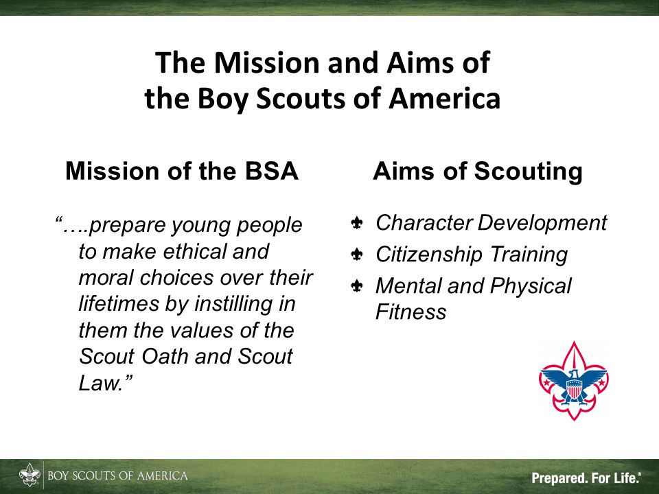 The Scout Oath and Law The Scout Oath On my honor, I will do my best to do my duty to God and my country and to obey the Scout Law; To help other people at all times; To keep myself physically strong, mentally awake, and morally straight.