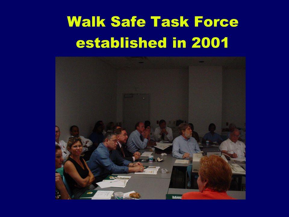 Walk Safe Task Force established in 2001
