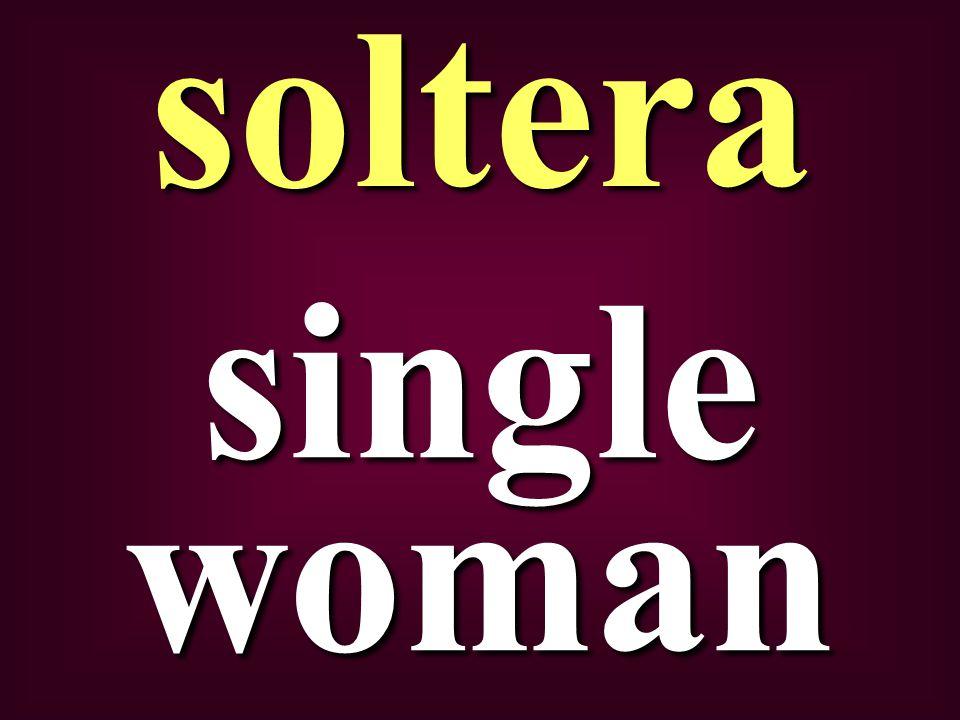 single woman soltera