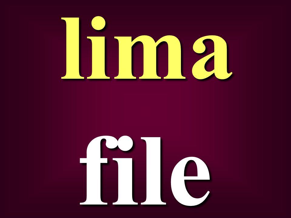 file lima
