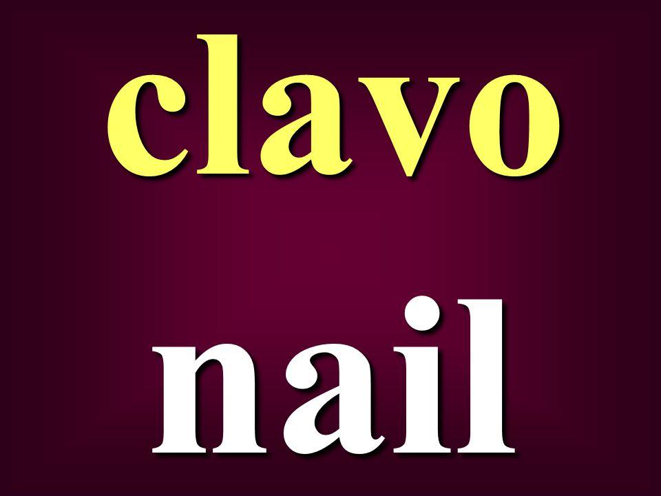 nail clavo