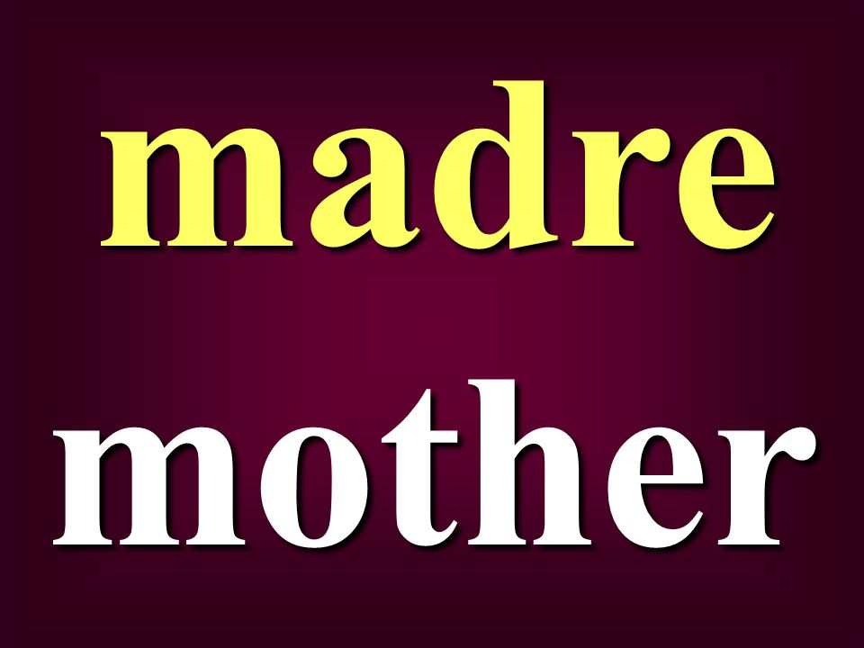 mothermadre