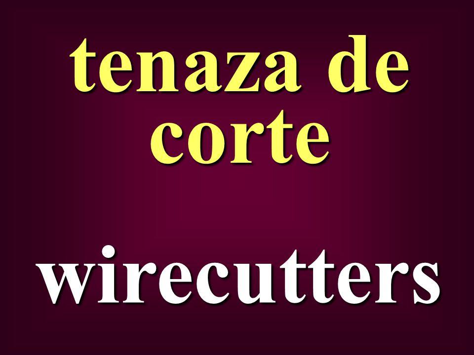 wirecutters tenaza de corte