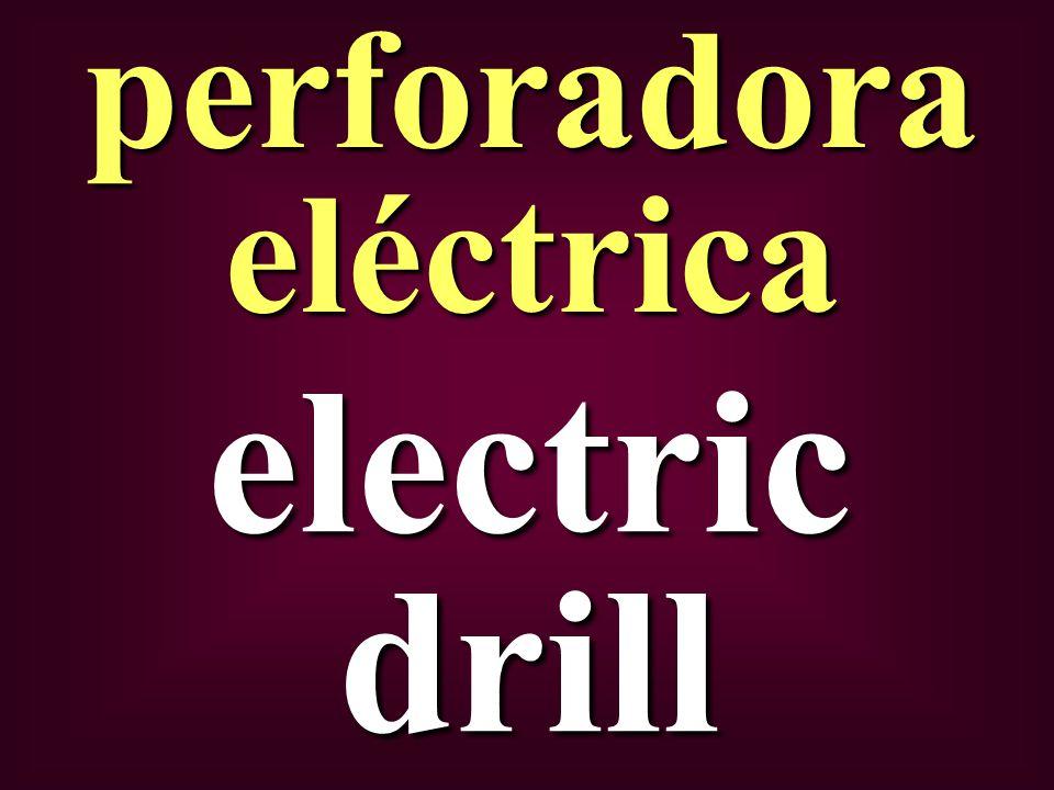 electric drill perforadora eléctrica