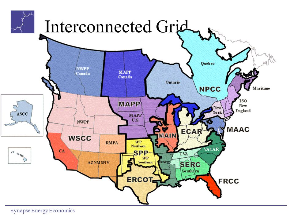 Interconnected Grid Synapse Energy Economics