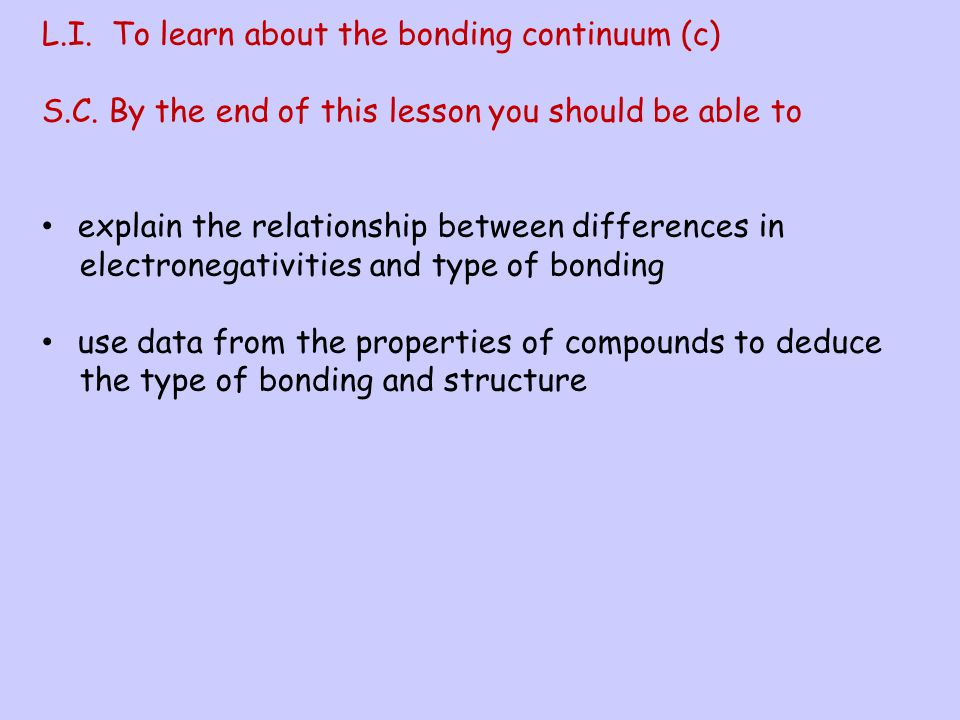 A polar covalent bond is a bond where the electrons are not shared equally, one atom in the bond has a greater attraction than the other for the bonde