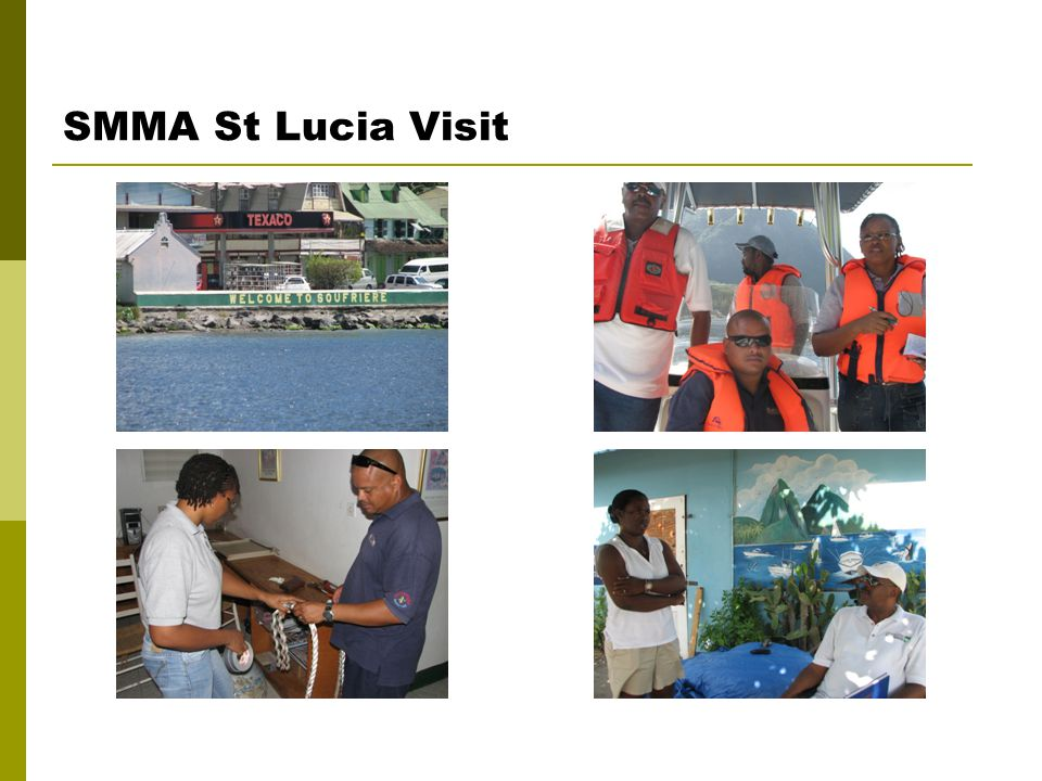 SMMA St Lucia Visit
