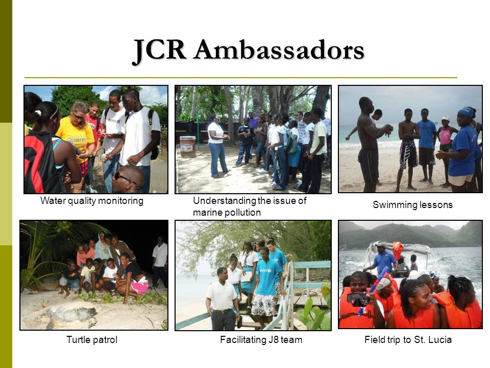 JCR Ambassadors Field trip to St.