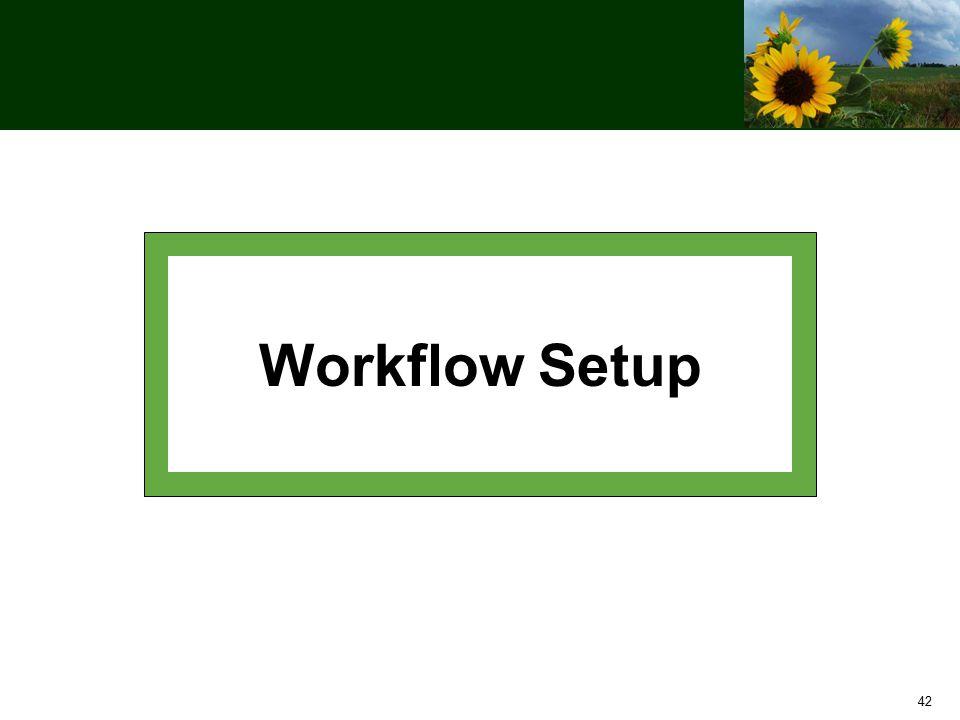 42 Workflow Setup
