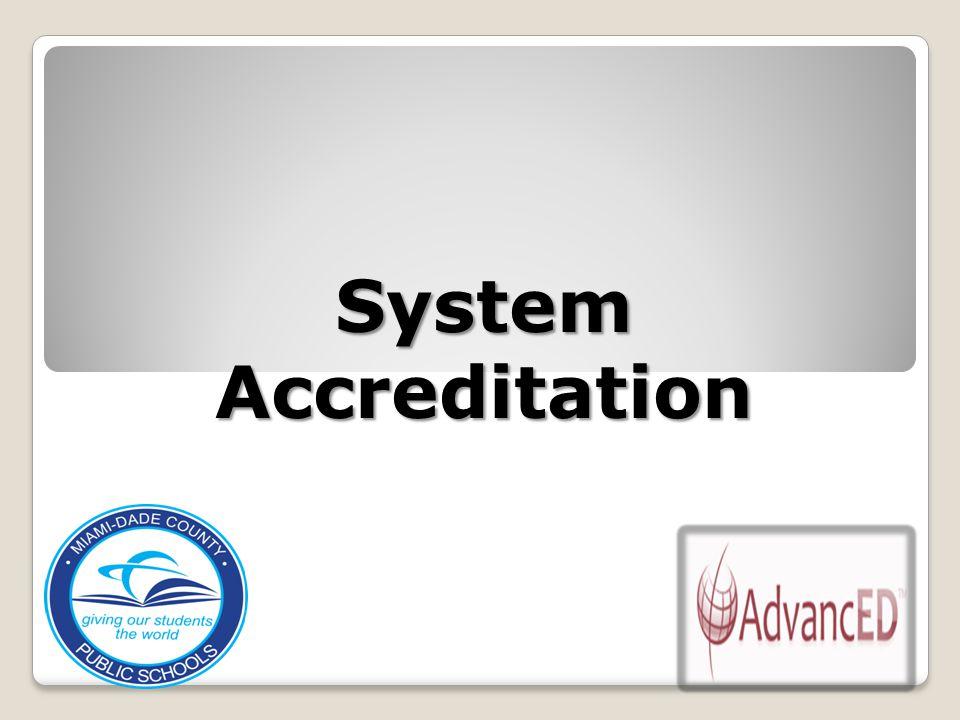 System Accreditation