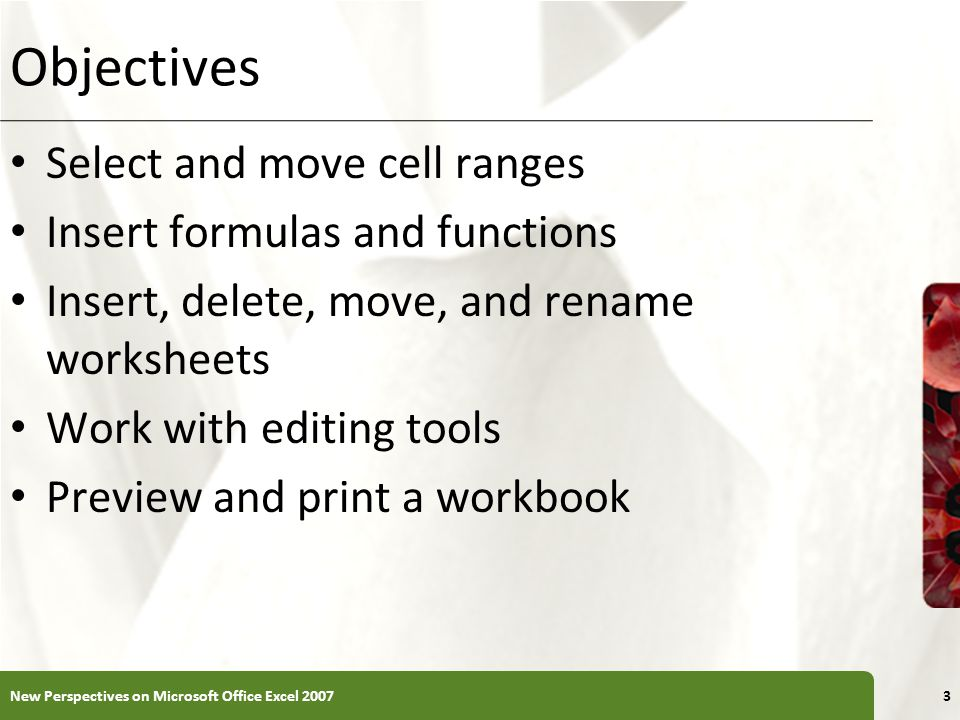 Working with Portrait and Landscape Orientation In portrait orientation, the page is taller than it is wide In landscape orientation, the page is wider than it is tall By default, Excel displays pages in portrait orientation New Perspectives on Microsoft Office Excel 200744