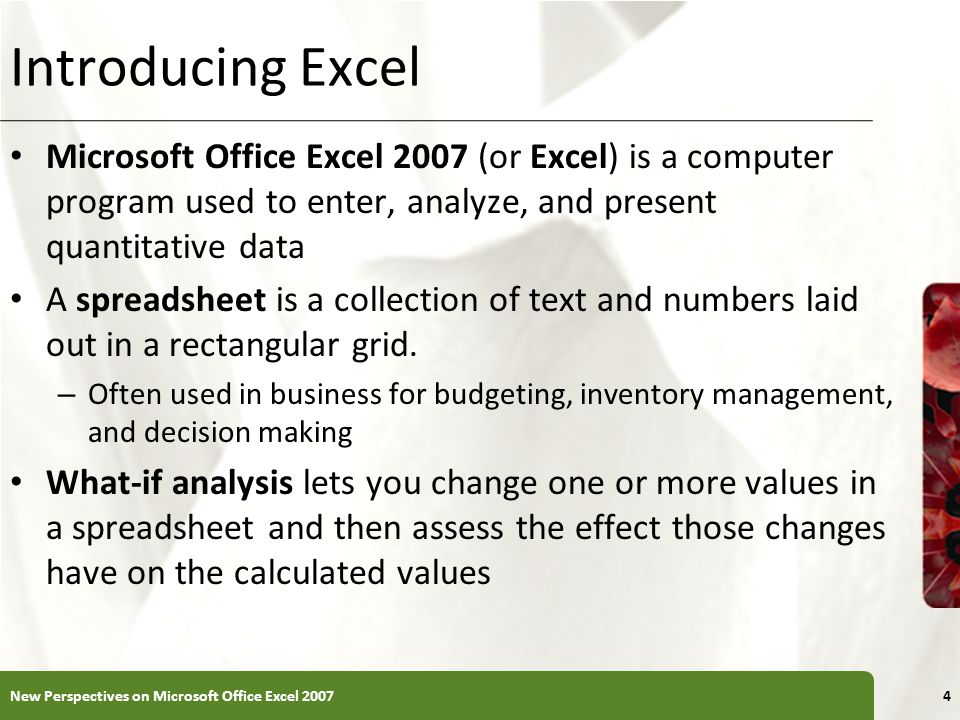 Working with Portrait and Landscape Orientation To change the page orientation: – Click the Page Layout tab on the Ribbon – In the Page Setup group, click the Orientation button, and then click Landscape – The page orientation switches to landscape New Perspectives on Microsoft Office Excel 200745