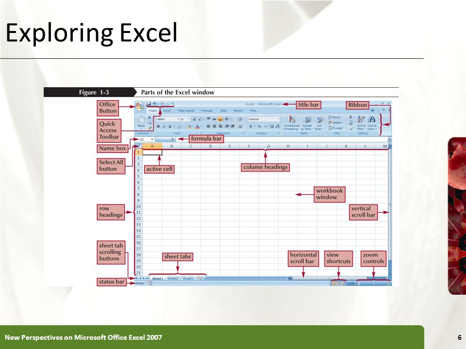 Editing Your Work To edit the cell contents, you can work in editing mode You can enter editing mode in several ways: – double-clicking the cell – selecting the cell and pressing the F2 key – selecting the cell and clicking anywhere within the formula bar New Perspectives on Microsoft Office Excel 200737