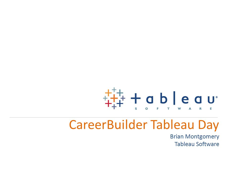 Topics Connecting to BigQuery API to manager server, admin functions, etc Embedding Tableau into SFDC Using API as a data source Parameters to filter across data sources Export into Excel