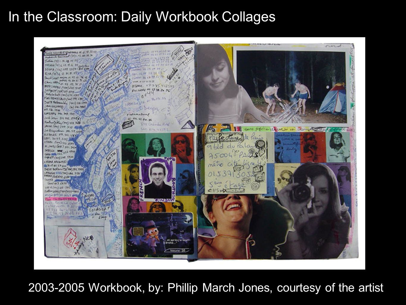2003-2005 Workbook, by: Phillip March Jones, courtesy of the artist