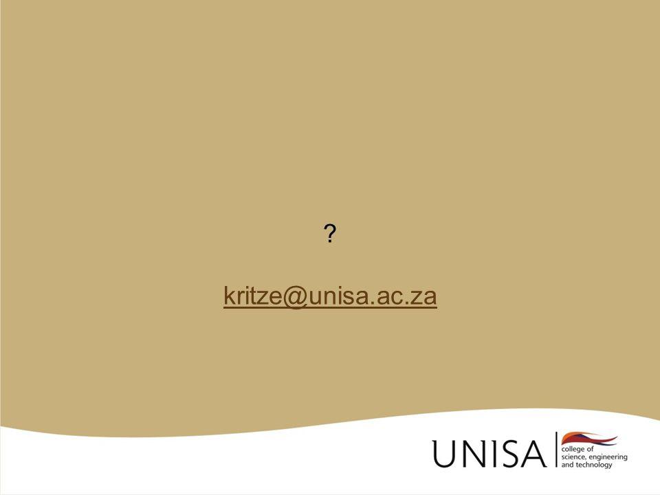 ? kritze@unisa.ac.za