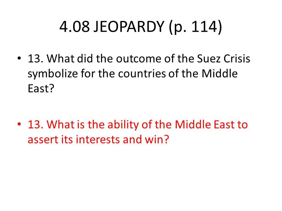 4.08 JEOPARDY (p. 114) 13.