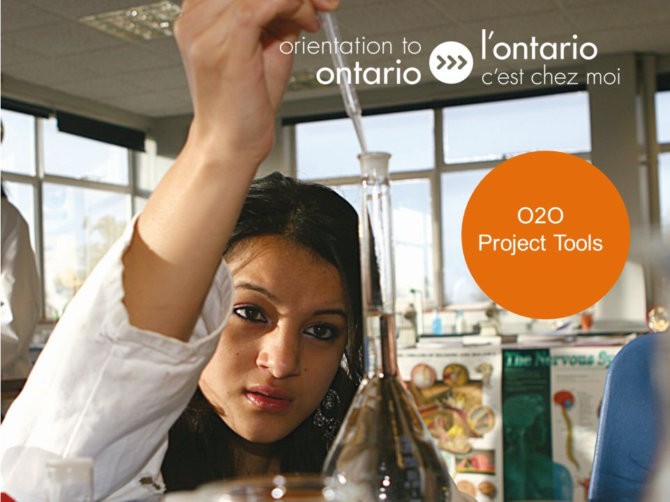 Funded by / Financé par O2O Tools O2O Project Tools