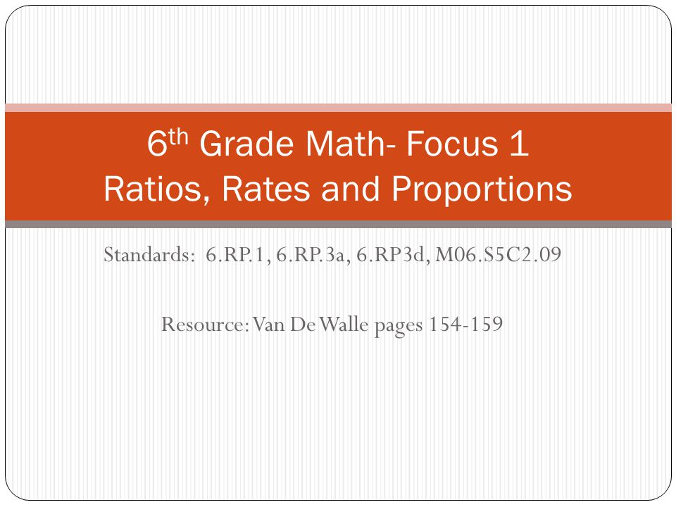 Measurement Relationships as Rates Relationships between two units of measure are also rates.