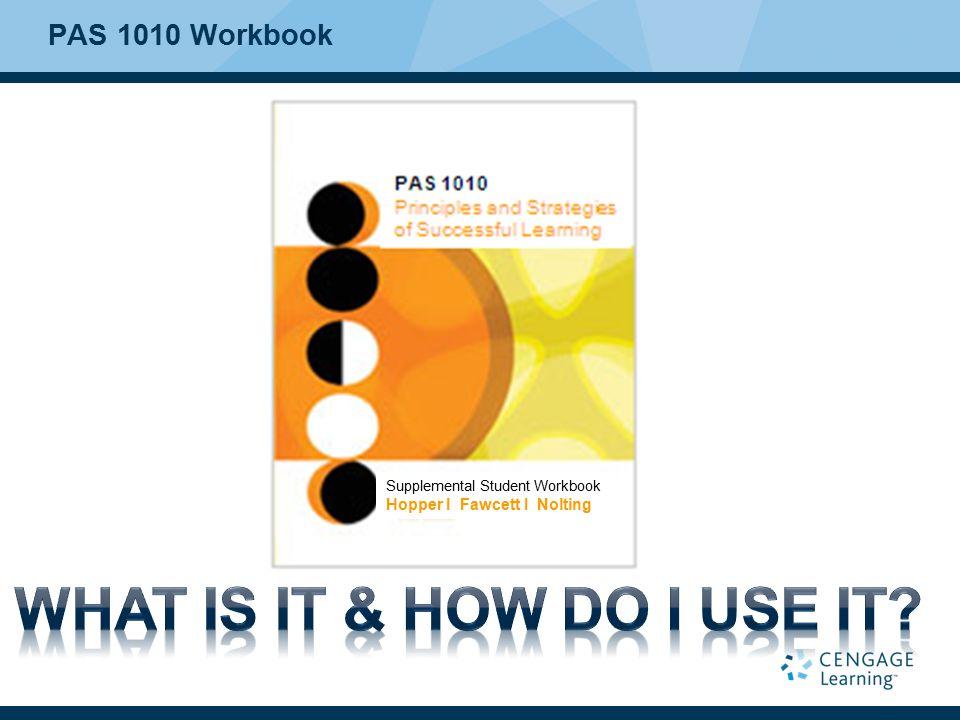 PAS 1010 Workbook Supplemental Student Workbook Hopper I Fawcett I Nolting