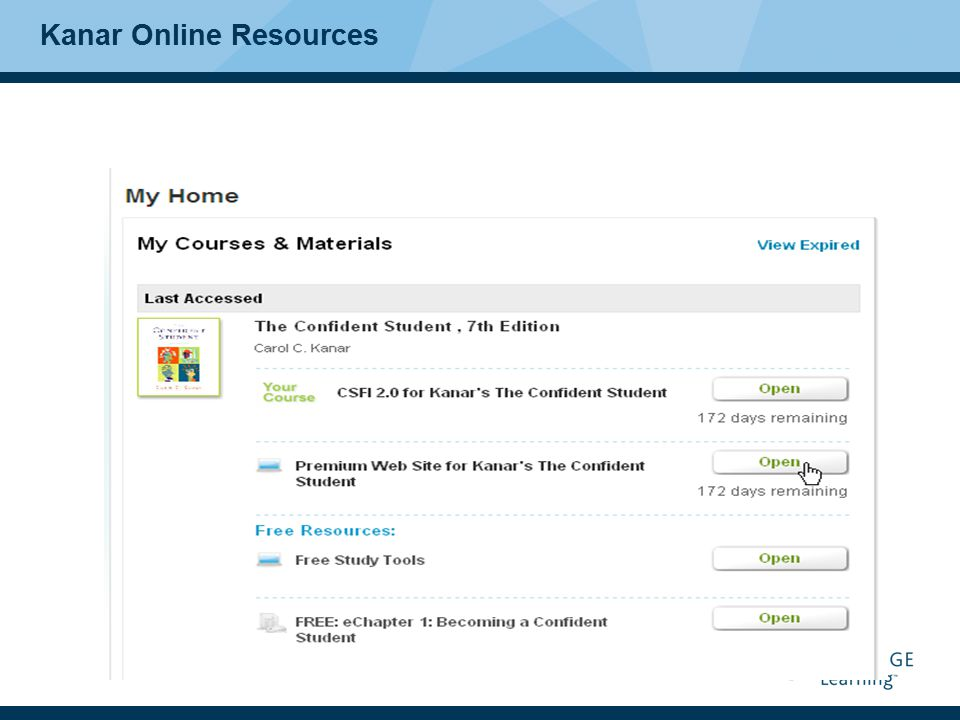 Kanar Online Resources