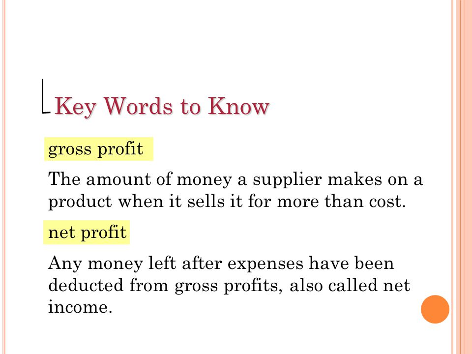 Markup = Selling Price – Cost Formula