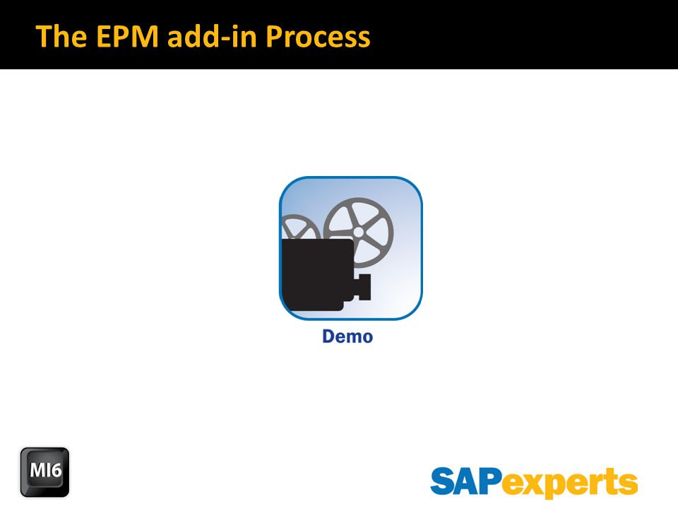 The EPM add-in Process