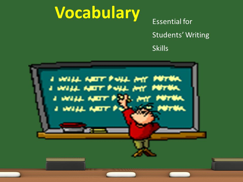 Vocabulary Essential for Students' Writing Skills
