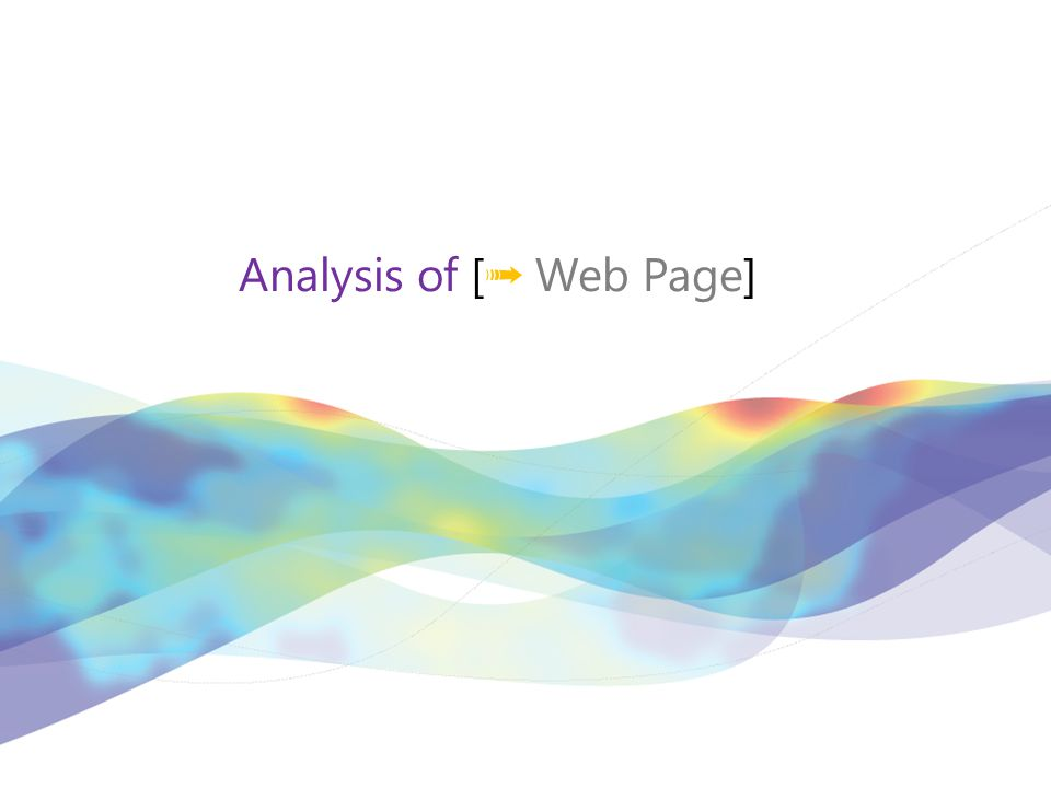 Analysis of [ ➟ Web Page]