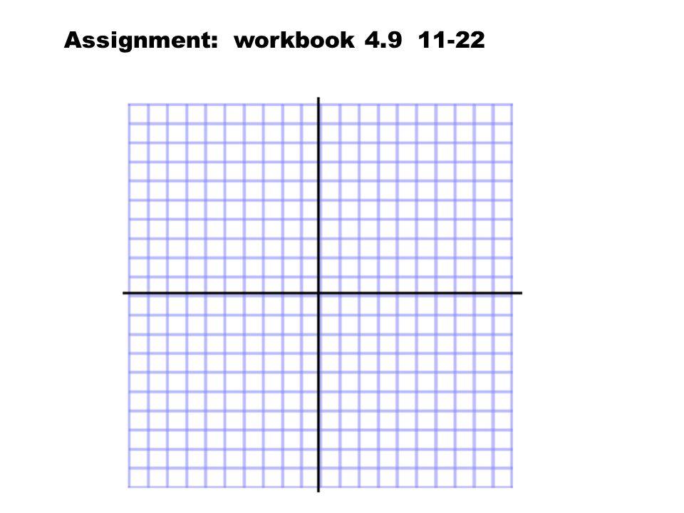 Assignment: workbook 4.9 11-22