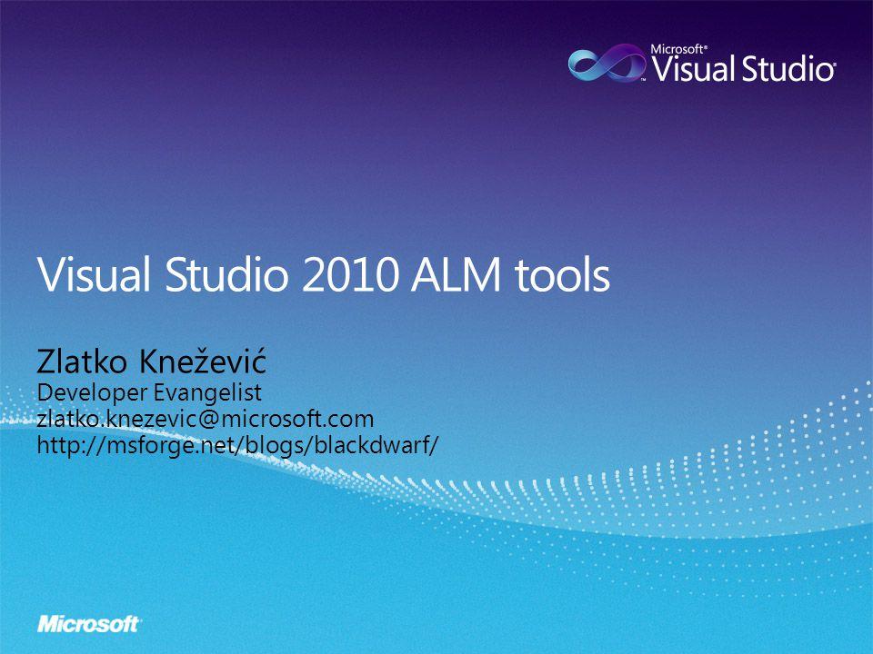 Zlatko Knežević Developer Evangelist zlatko.knezevic@microsoft.com http://msforge.net/blogs/blackdwarf/