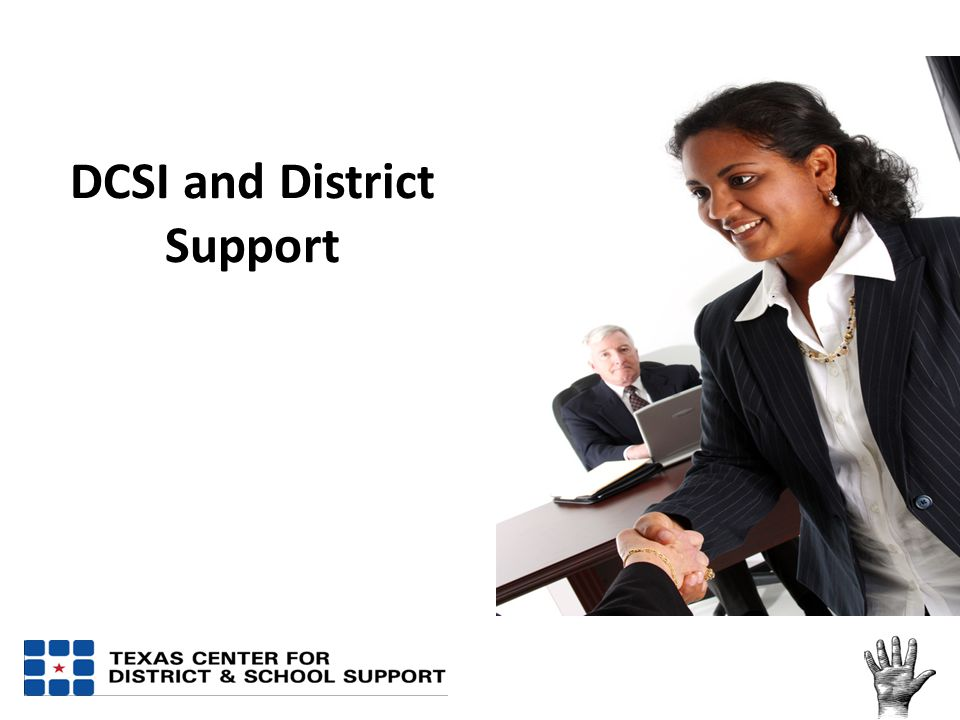 DCSI and District Support