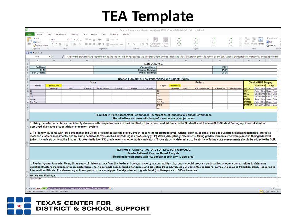 TEA Template