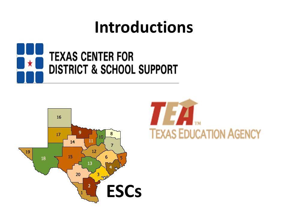 Introductions ESCs
