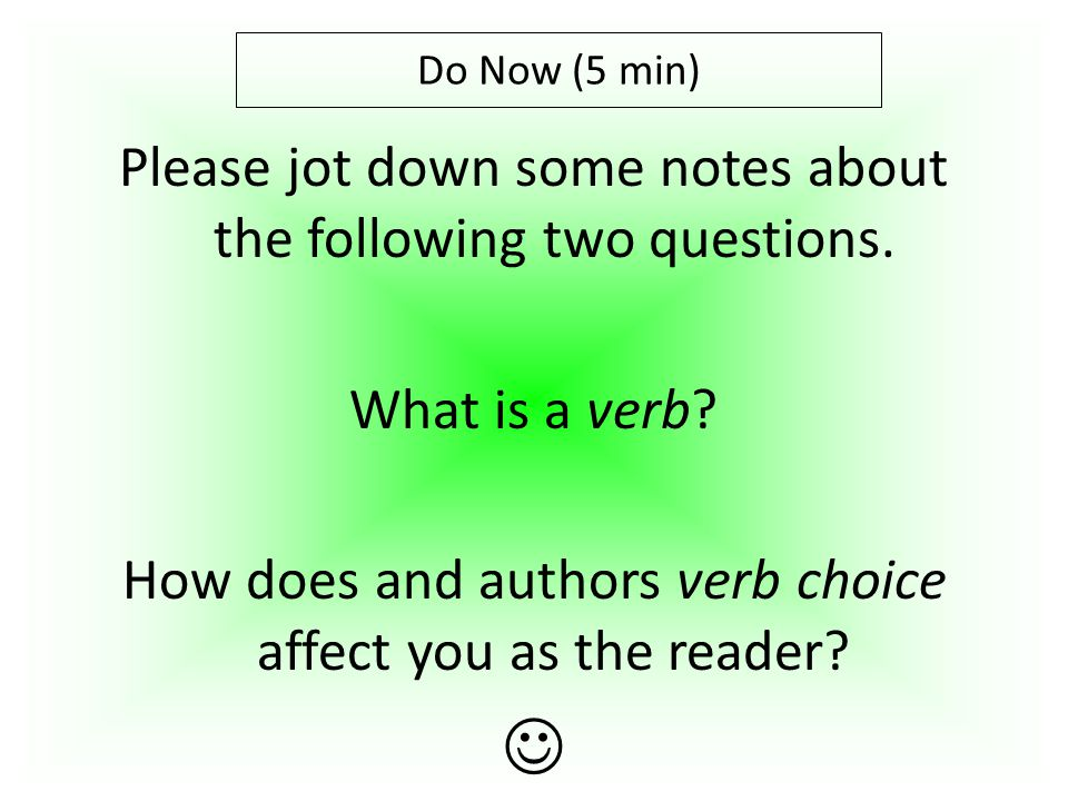 Please jot down some notes about the following two questions.