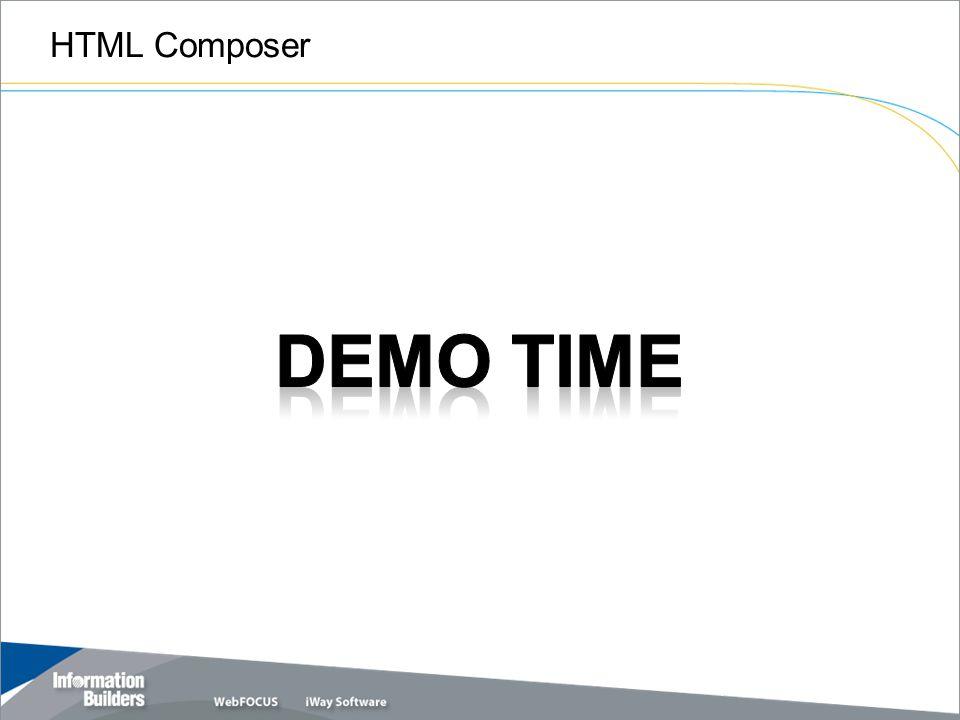 HTML Composer Copyright 2009, Information Builders. Slide 11