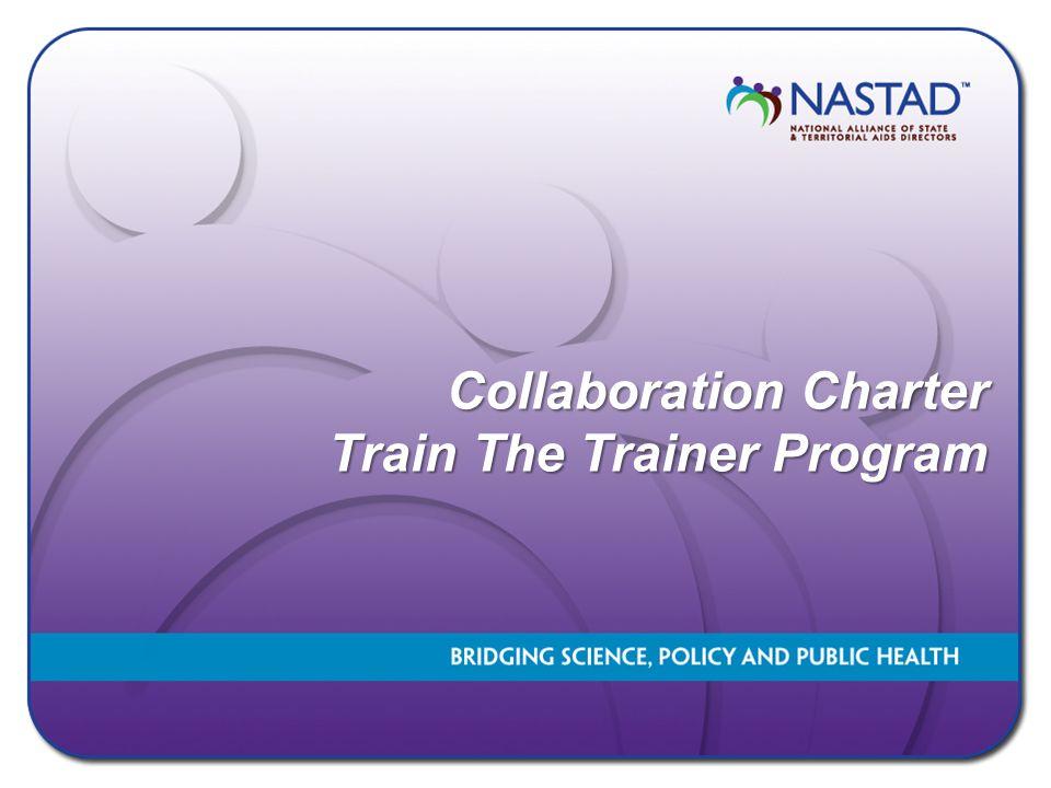 Collaboration Charter Train The Trainer Program