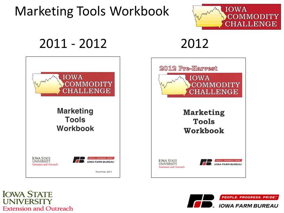 Marketing Tools Workbook 2011 - 20122012