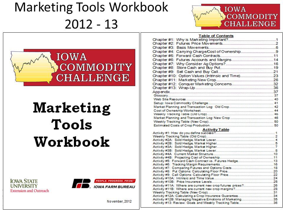 Marketing Tools Workbook 2012 - 13