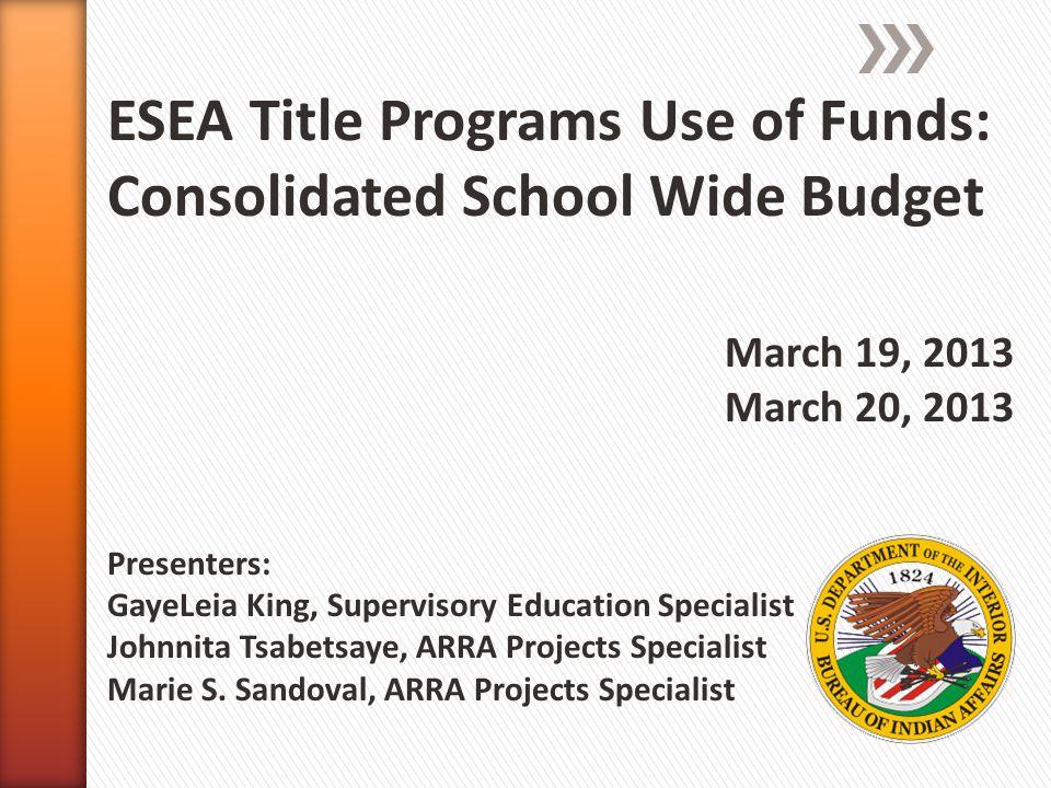 » GayeLeia King, Supervisory Education Specialist ˃Gayeleia.King@bie.eduGayeleia.King@bie.edu » Johnnita Tsabetsaye, ARRA Projects Specialist ˃Johnnita.Tsabetsaye@bie.eduJohnnita.Tsabetsaye@bie.edu » Marie S.